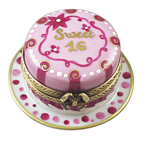 Sweet Sixteen Birthday Cake The Limoges Lady